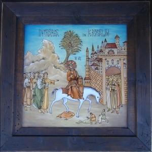 copie Intrarea in Ierusalim