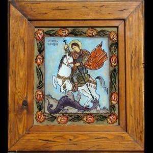 copie Sf. Gheorghe cu ruje
