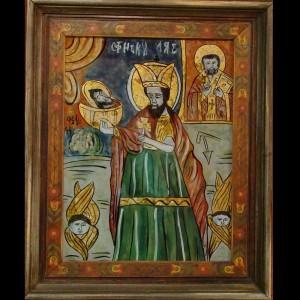 copie Sf. Ioan Botezatorul si Sf. Nicolae