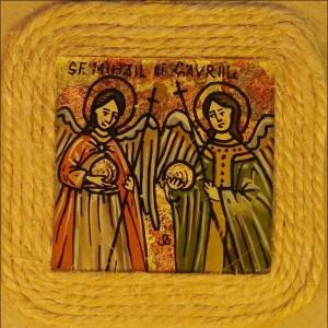copie Sf. Mihail si Gavriil